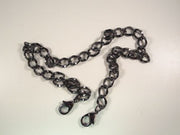Noni 21-in. Fashion Chain - Gunmetal