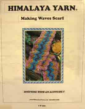 P-102 Making Waves Scarf