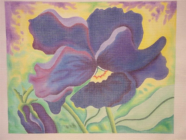 Painterly Pansy