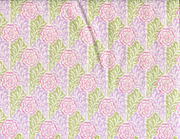 Quilting Fabric CM36 Rose Stencil Kiwi