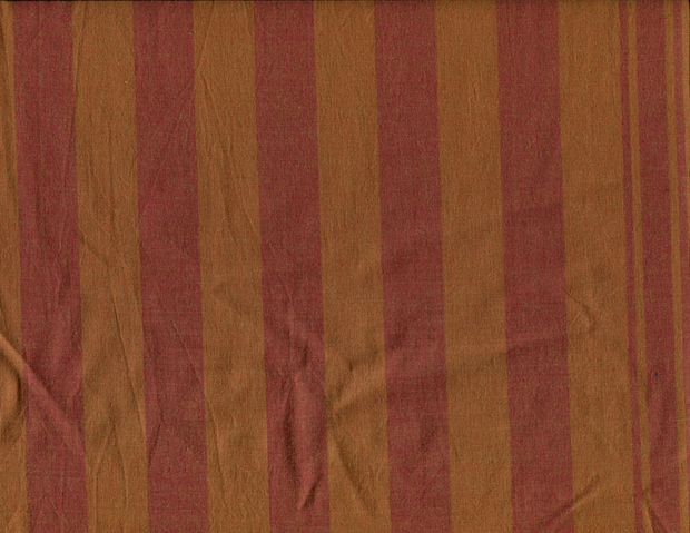 Quilting Fabric W2T 2-Tone Stripe - Pumpkin