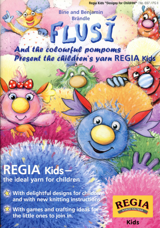 Regia Booklet Designs for Kids