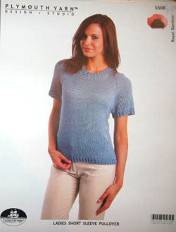 S508 Ladies Short Sleeve Pullover