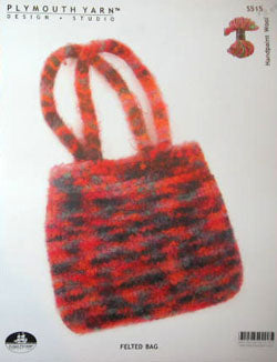 S515 Felted Bag (Handpaint Wool)