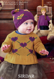 Sirdar 1471 Snuggly Baby Bamboo DK