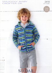 Sirdar 2410 Child's Hooded Jacket