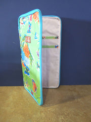 Straight Needle Case - Butterflies