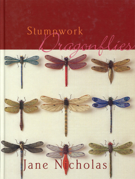 Stumpwork Dragonflies by Jane Nicholas