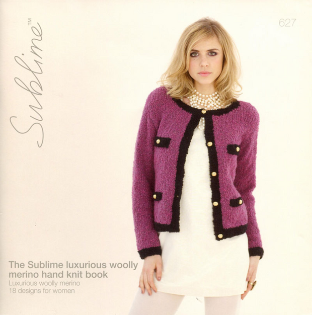 Sublime #627 The Sublime Luxurious Woolly Merino Hand Knit Book