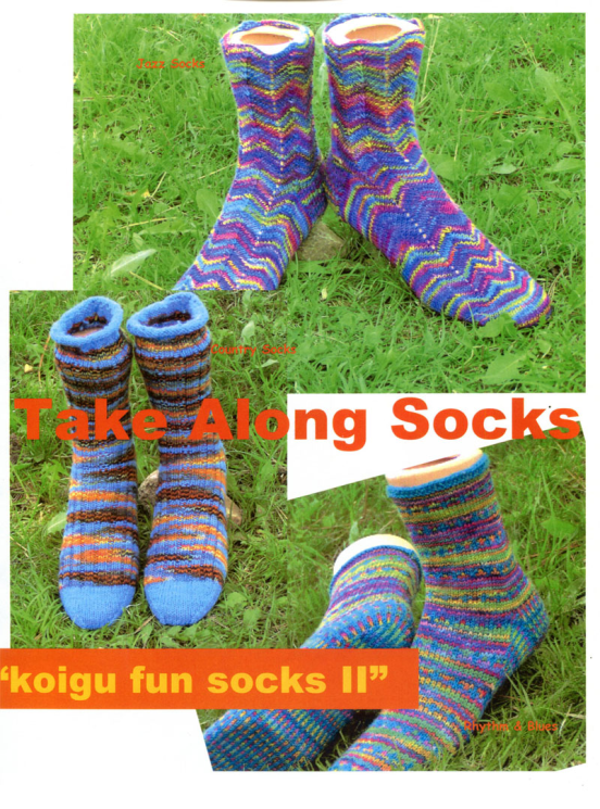 Take Along Socks Fun Socks II