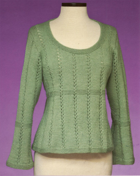 Top-Down Cardigan 170 FT-138