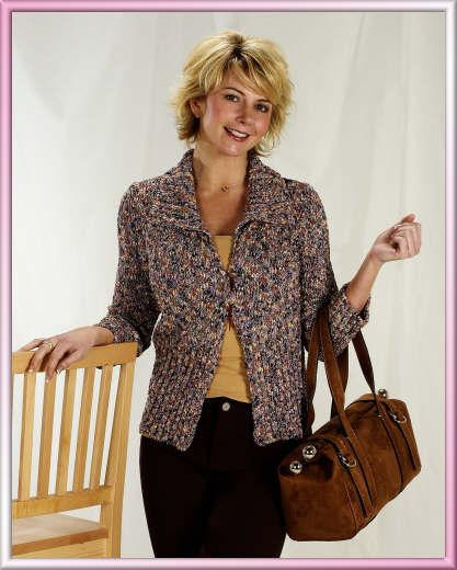Trendsetter 3021 Montage Ribbed MP Cardigan
