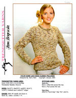 Trendsetter 3139 Dune Lace Edge Classic Pullover
