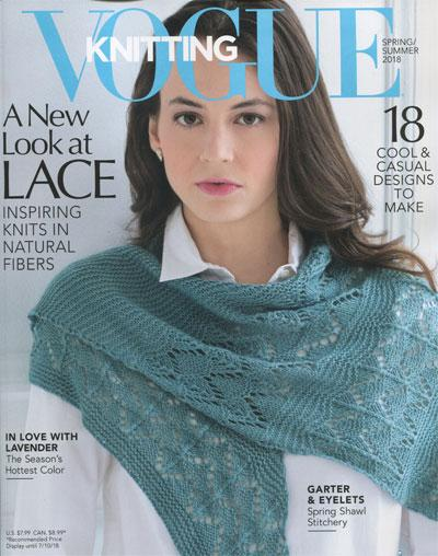 Vogue Knitting Spring/Summer 2018