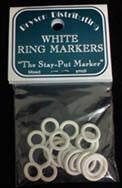 White Ring Markers - Small