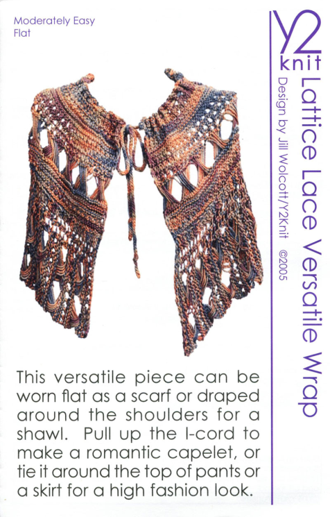 Y2Knit Lattice Lace Versatile Wrap