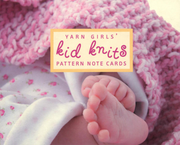 Yarn Girls' Kid Knits Pattern Note Cards