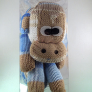 Yarnimals Monkey Scarf