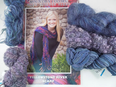 Yellowstone River Scarf