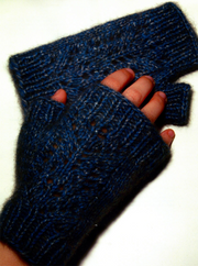 Zealana Filigree Mitts
