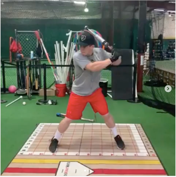 Coach Headley uses the ProVelocity Bat for exit velocity and swing sequence training.