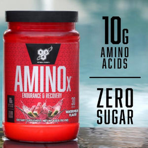 BSN AminoX 30 Servings 435G-BCAA / Amino Acids-The Nutri X