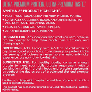 BSN Syntha-6 5lbs-Whey Protein-The Nutri X