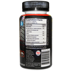 MT Performance Series Hydroxycut Hardcore Elite 110 Caps-Fat Burner-The Nutri X