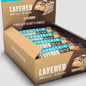 MyProtein Layered Protein Bar (Box of 12)