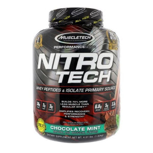 MuscleTech NitroTech Whey Peptides and Isolate 4lbs