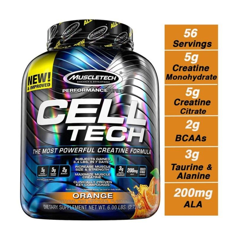 MuscleTech Cell Tech Perf Series 5.95lb (2.70kg)