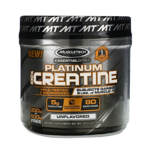 MuscleTech Essential Series Platinum Creatine (Unflavoured)