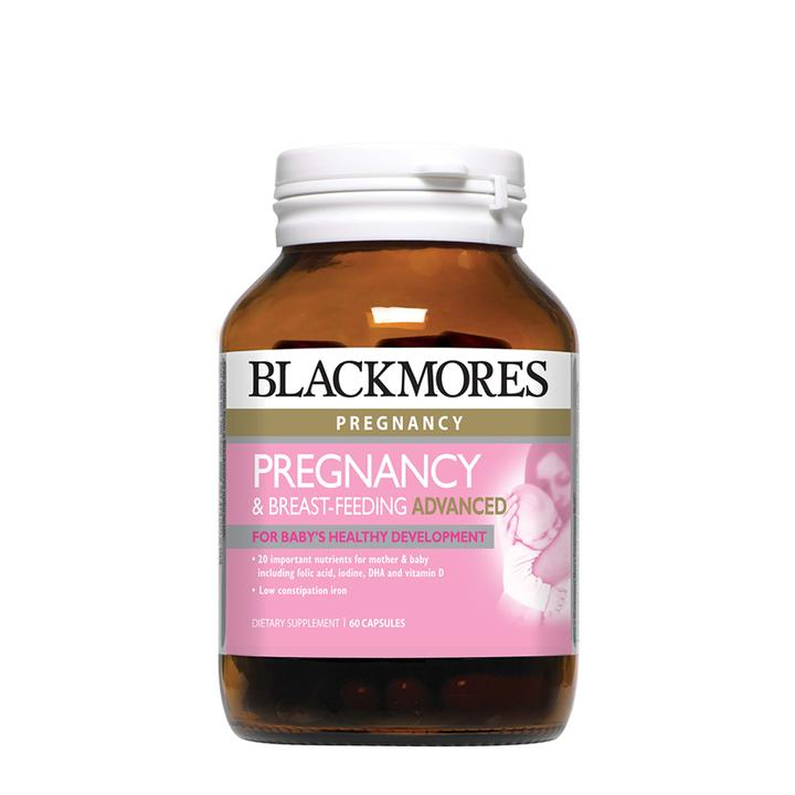 Blackmores Pregnancy & Breast-Feeding Advanced 60s