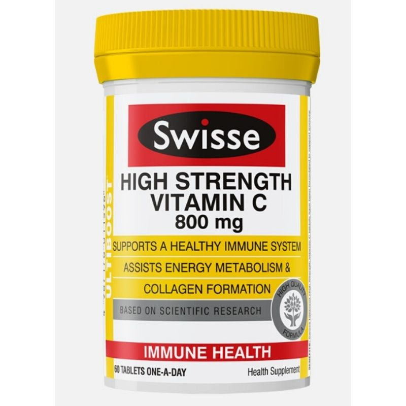 Swisse Ultiboost High Strength Vitamin C 60 tabs