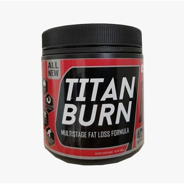 Titan Burn 40 Servings (Halal)-Creatine / Pre and Post Workout-The Nutri X
