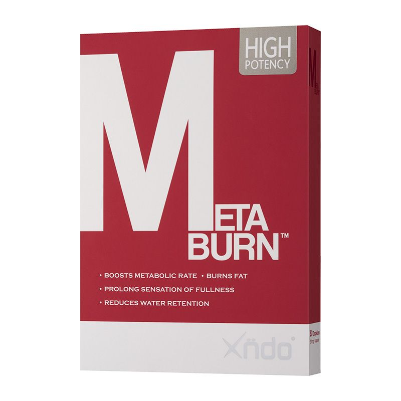 Xndo Metaburn Capsules (60 Capsules)-Fat Burner-The Nutri X