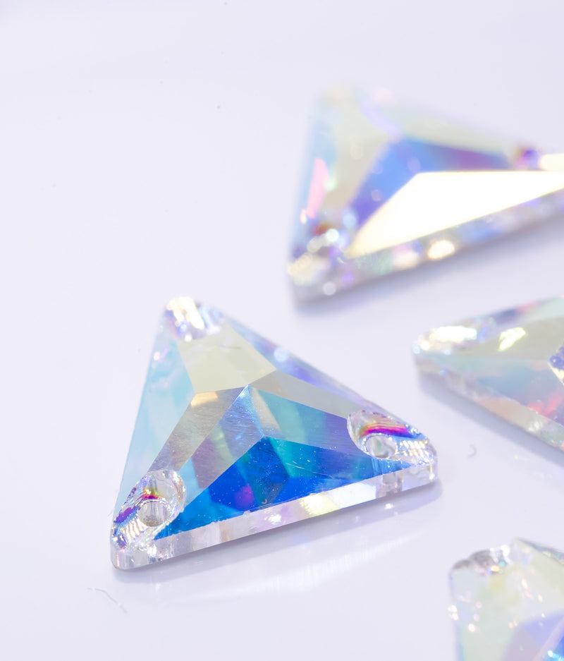 Crystal AB Triangle