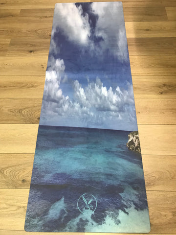 Yoga Mat - Hemp and Eco Rubber