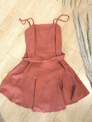 Grace and Co Linen Playsuit