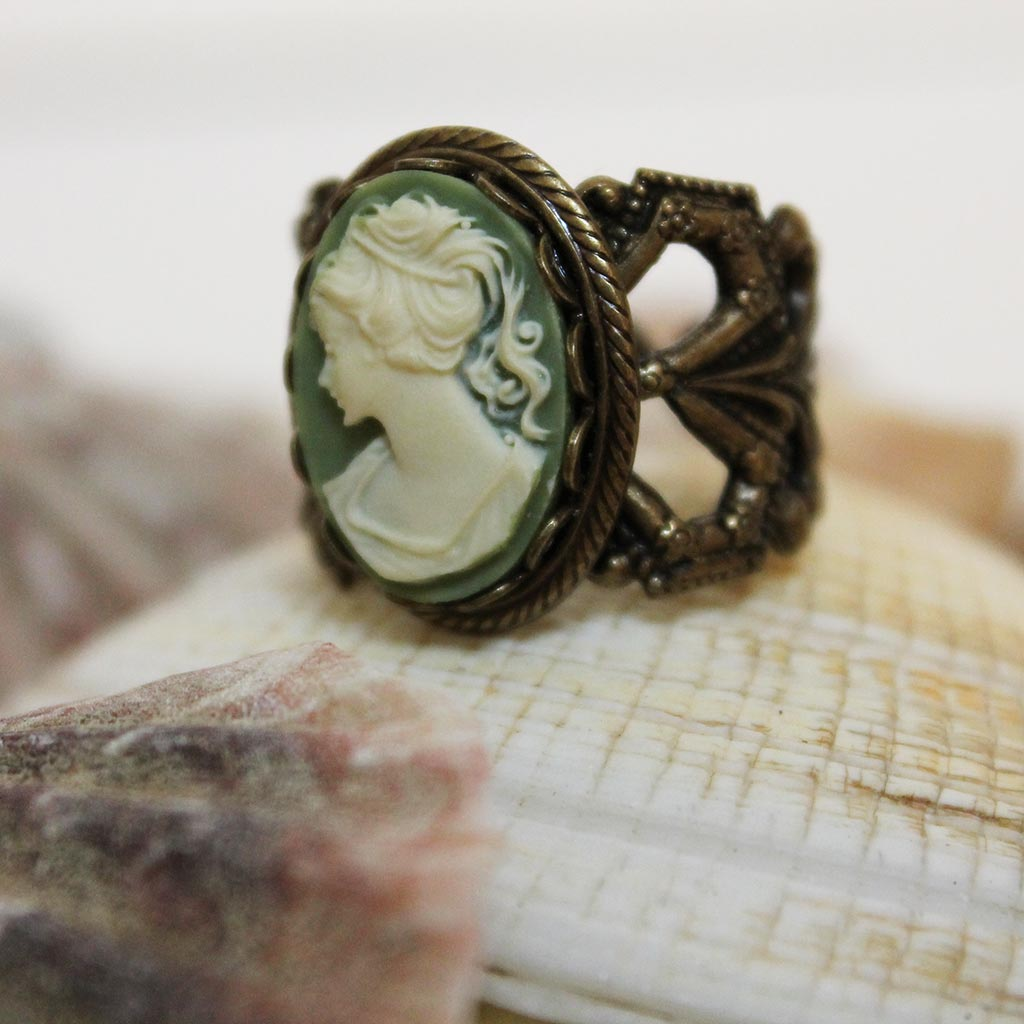 Handmade Gothic Victorian Rings