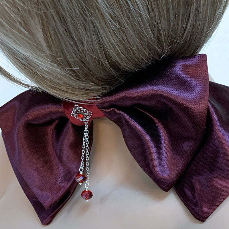 Victorian Bow Tie Choker | Gothic Grace
