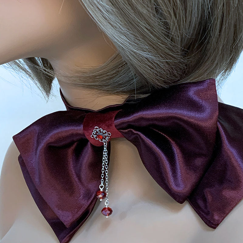 Bow Tie Choker | Gothic Grace