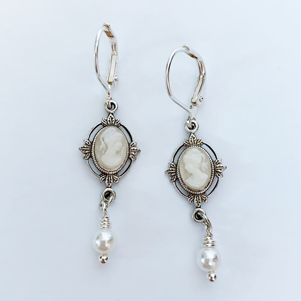 Victorian Bridal Earrings | Gothic Grace