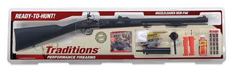 Traditions Deerhunter Redi-Pak .50 cal Flintlock Muzzleloader Black/Blued