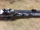 Traditions Muzzleloader PA Accelerator .50 cal Flintlock Black and White Snow Camo RARE Carbine
