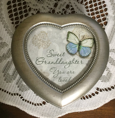 Music Box: Sweet Granddaughter You Are Loved