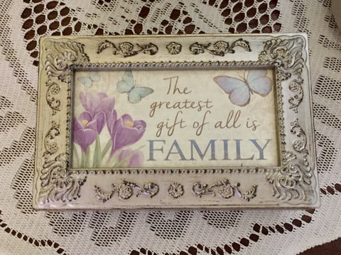 Music Box: Greatest Gift of All Is Family