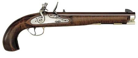 "Pedersoli Kentucky ""Maple"" Flintlock .50 Cal Pistol"