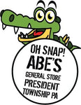 Abe's General Store Alligator on the Allegheny T-Shirt