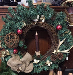 Festive Christmas Wreath
